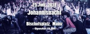 Mainzer Johannisnacht 2018 @ Bühne auf dem Bischofsplatz | Mainz | Rheinland-Pfalz | Deutschland