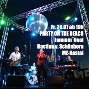 PARTY ON THE BEACH @ Bastion v. Schönborn
