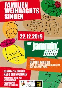 Familien Weihnachtssingen - mit Jammin' Cool und Oliver Mager @ Haus der Kulturen
